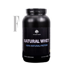 WISDOM VALLEY Natural Whey Protein 100% Dark Cocoa - 907g