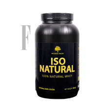 WISDOM VALLEY Iso Natural Whey 100% Dark Cocoa - 907g