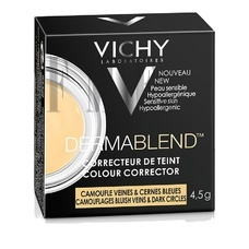 VICHY Dermablend Colour Corrector Yellow Bluish Veins/Dark Circles - 4,5 gr.