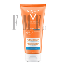 VICHY Capital Soleil Beach Protect SPF30+ Multi-Protection Milk - 200 ml.