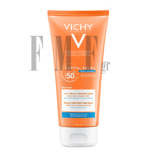VICHY Capital Soleil Beach Protect SPF50+ Multi-Protection Milk - 200 ml.