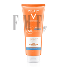VICHY Capital Soleil Beach Protect SPF50+ Fresh Hydrating Milk - 300 ml.