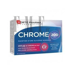FORTE PHARMA Chrome 200Mg - 30 Tabs.