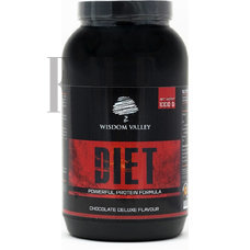 WISDOM VALLEY Diet Powerful Protein Formula Chocolate Deluxe - 907g