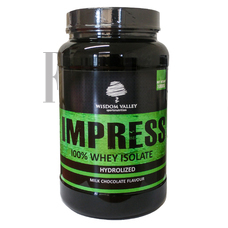 Wisdom Valley Impress 100% Whey Isolate Protein 1000gr Milk Chocolate