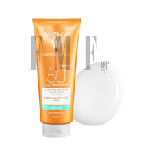 VICHY Capital Soleil SPF50+ Fresh Protective Milk - 300 ml.