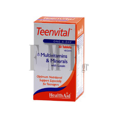 HEALTH AID Teenvital - 30 Tabs.