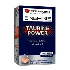 FORTE PHARMA Energy Taurine Power - 30 Tabs.