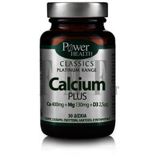 POWER HEALTH Platinum Range Calcium Plus - 30 Tabs.