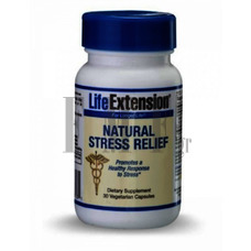 LIFE EXTENSION Natural Stress Relief Formula - 30 Caps.