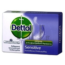DETTOL Soap Sensitive - 100 gr.