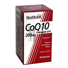 HEALTH AID Conergy CoQ10 200mg - 30 Caps.