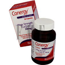 HEALTH AID Conergy COQ10 30mg - 90 Caps.