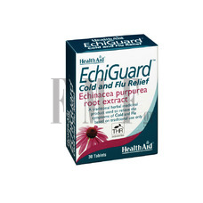 HEALTH AID Echiguard Cold and Flu Relief - 30 Tabs.