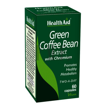 HEALTH AID Green Coffee Bean Extract - 60 Caps.