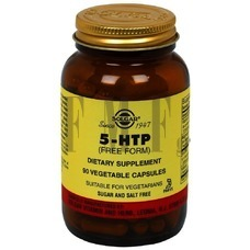 SOLGAR 5-HTP Hydroxytryptophan - 90 Caps.