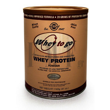 SOLGAR Whey to Go Protein Powder 1162gr Chocolate