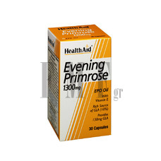 HEALTH AID Evening Primrose 1300mg - 30 Caps.