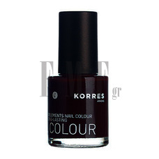 KORRES Nail Colour - 59 Dark Red