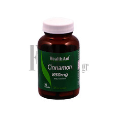 HEALTH AID Cinnamon 850mg - 30 Caps.