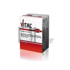 VITAL Plus Q10 Lipid 30 Caps.