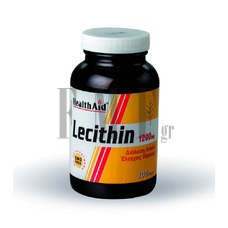 HEALTH AID Lecithin 1200mg - 100 Caps.