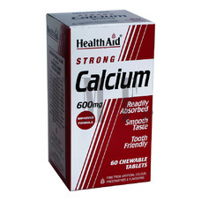 HEALTH AID Calcium Strong 600mg - 60 Tabs.