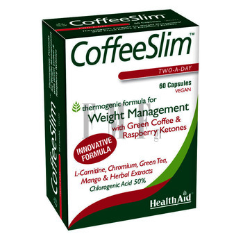 HEALTH AID Coffee Slim - 60 Caps.