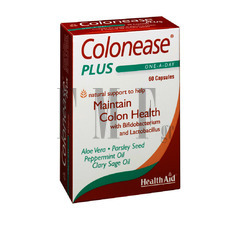 HEALTH AID Colonease Plus - 60 Caps.