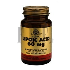 SOLGAR Alpha Lipoic Acid 60mg - 30 Caps.