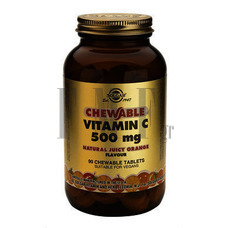 SOLGAR Vitamin C 500mg Orange - 90 Tabs.