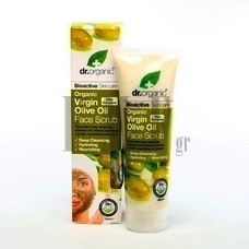 DR.ORGANIC Virgin Olive Oil Face Scrub - 125 ml.