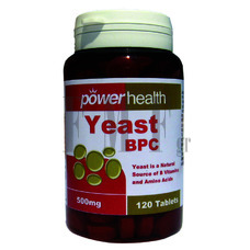 POWER HEALTH Power Yeast - 120 Tabs.