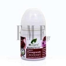 DR.ORGANIC Pomegranate Deodorant - 50 ml.
