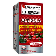 FORTE PHARMA Energy Acerola - 60 Caps.