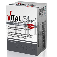 VITAL Plus Silver 30 Lipid Caps