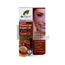 DR.ORGANIC Moroccan Argan Oil Facial Oil - 30 ml.