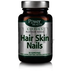 POWER HEALTH Platinum Range Hair Tone Nails & Skin - 30 Caps.
