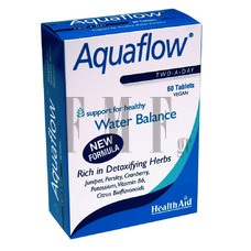 HEALTH AID Aquaflow - 60 Tabs.