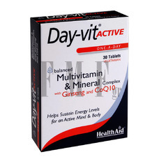 HEALTH AID Day-vit ACTIVE - 30 Tabs.
