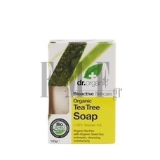 DR.ORGANIC Tea Tree Soap - 100 gr.