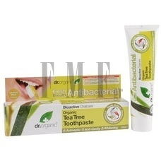 DR.ORGANIC Tea Tree Toothpaste (Antibacterial) - 100 ml.