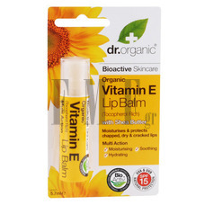 DR.ORGANIC Vitamin E Lip Balm - 5,7 ml.