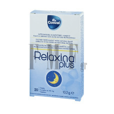 COSVAL Relaxina Plus Tabs - 20 Tabs.