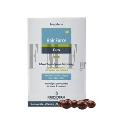 FREZYDERM Hair Force - 60 Caps.
