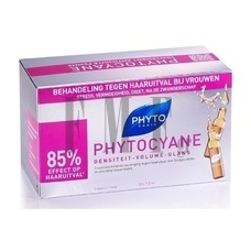 PHYTO Phytocyane Ampoules - 12 Amps x 7,5 ml.