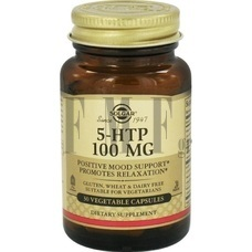 SOLGAR 5-HTP Hydroxytryptophan - 30 Caps.