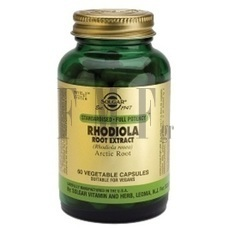 SOLGAR Rhodiola Root Extract - 60 Caps.