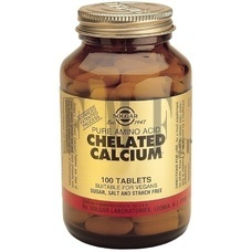 SOLGAR Chelated Calcium 167mg - 100 Tabs.
