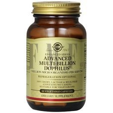 SOLGAR Advanced Multi-Billion Dophilus - 60 Caps.